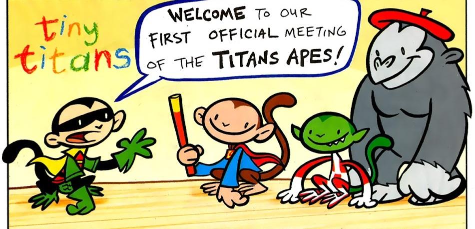 Titans Apes (Tiny Titans)