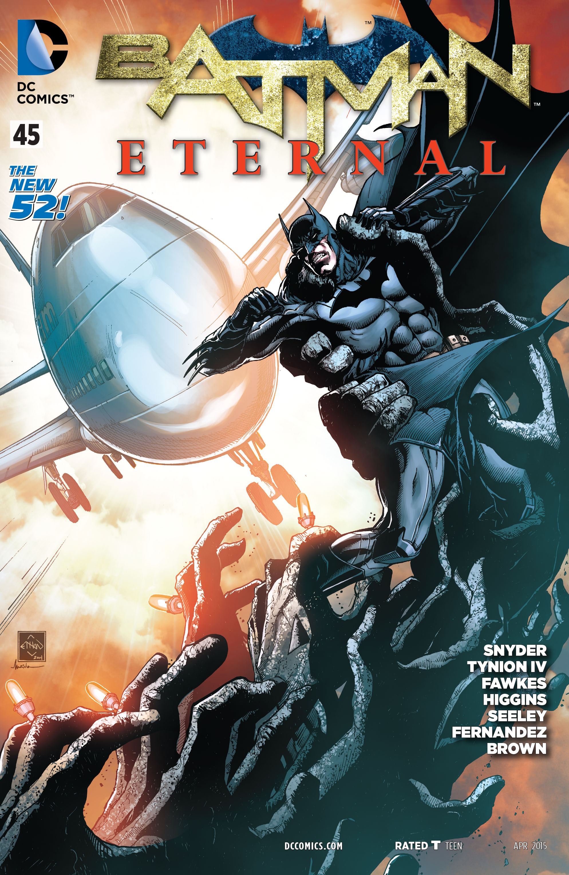 Batman Eternal Vol 1 45
