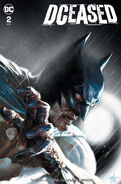 DCeased Vol 1 2 Bullet Proof Comics Gabriele Dell'Otto Variant