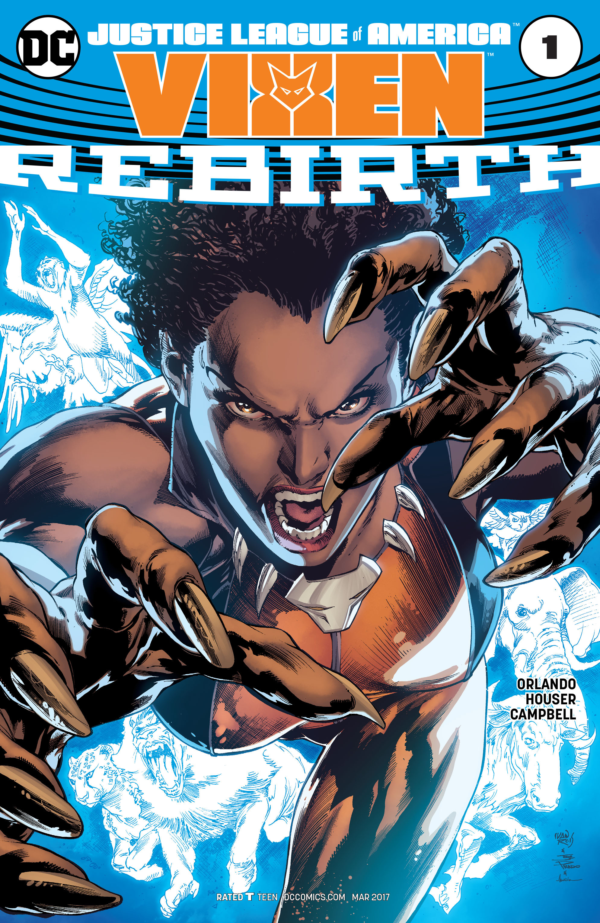 Justice League of America: Vixen Rebirth Vol 1 1