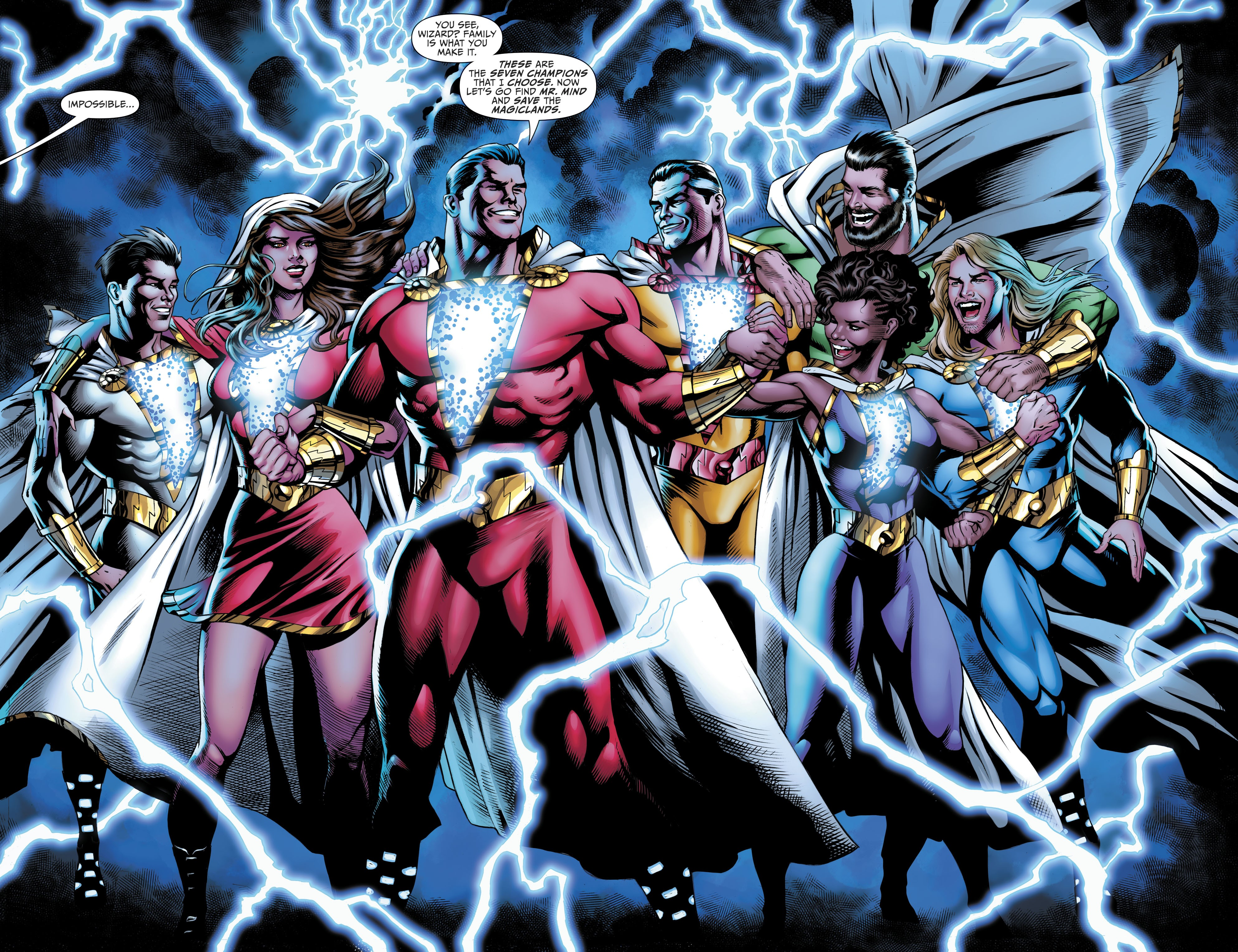 Shazam Family (Prime Earth)