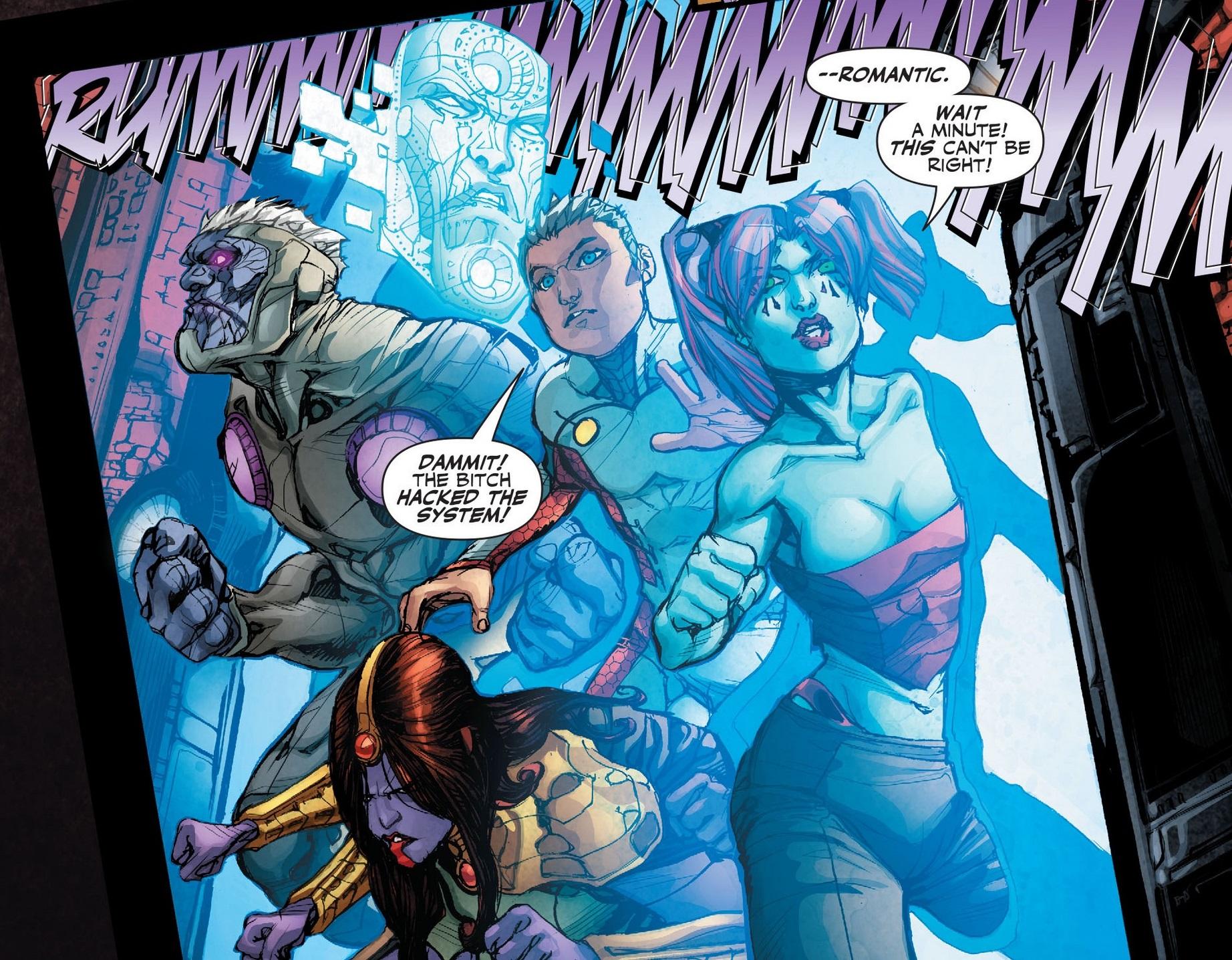 The Five (Justice League 3000)
