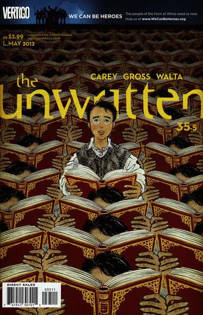 Unwritten Vol 1 35.5