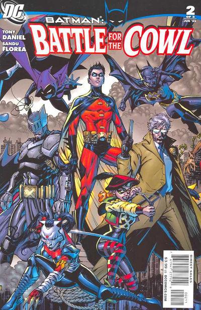 Batman: Battle for the Cowl Vol 1 2