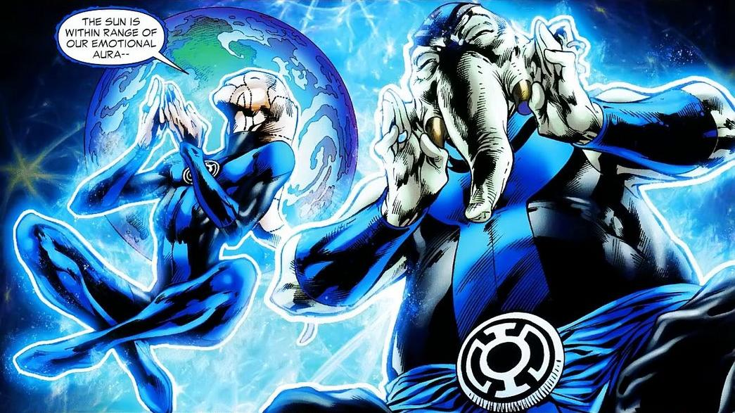 Blue Lantern Corps (New Earth)/Gallery