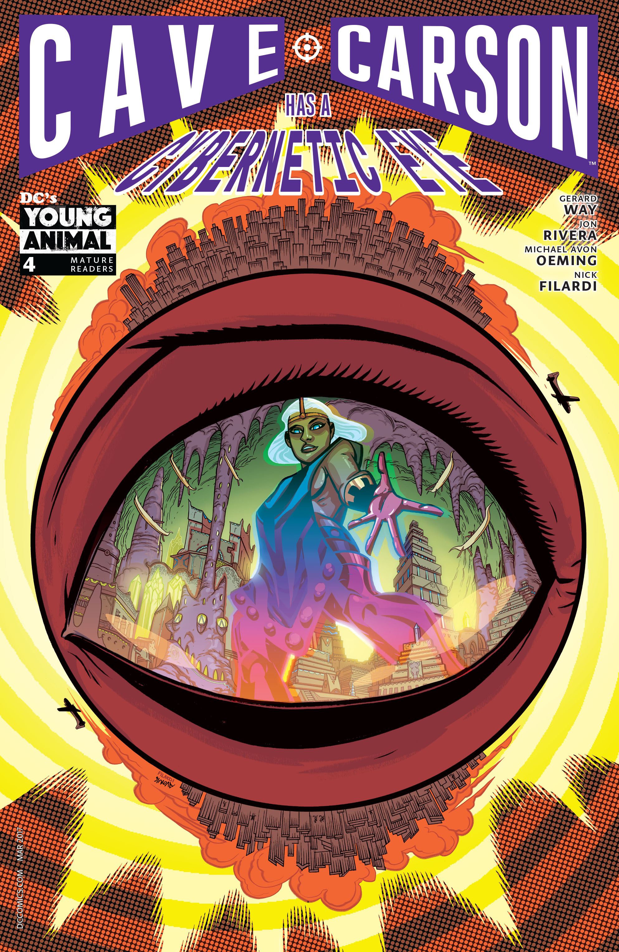 Cave Carson Has a Cybernetic Eye Vol 1 4