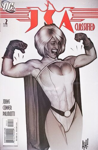 Adam Hughes 2nd Printing  Cover