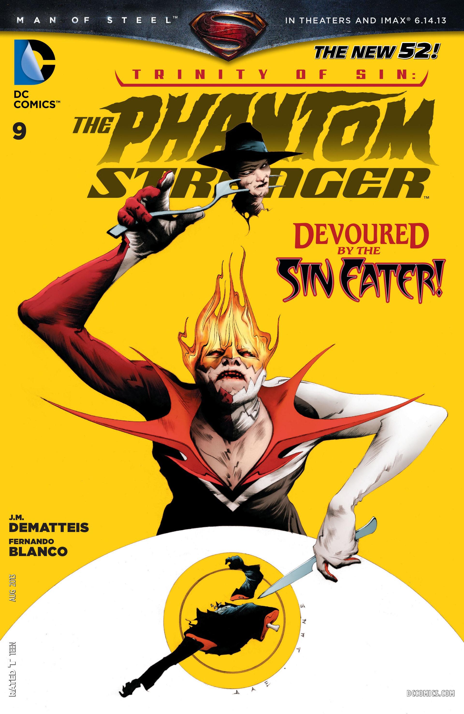 Trinity of Sin: The Phantom Stranger Vol 1 9