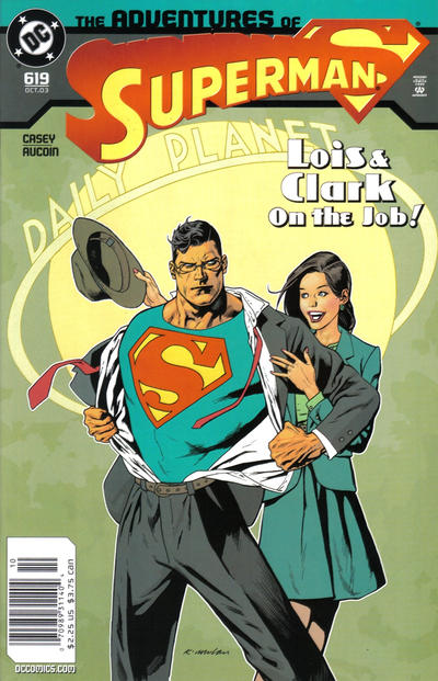 Adventures of Superman Vol 1 619