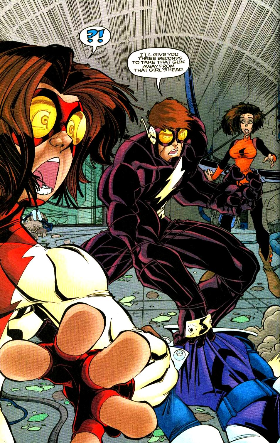 Bart Allen (Impulse: Dark Tomorrow)