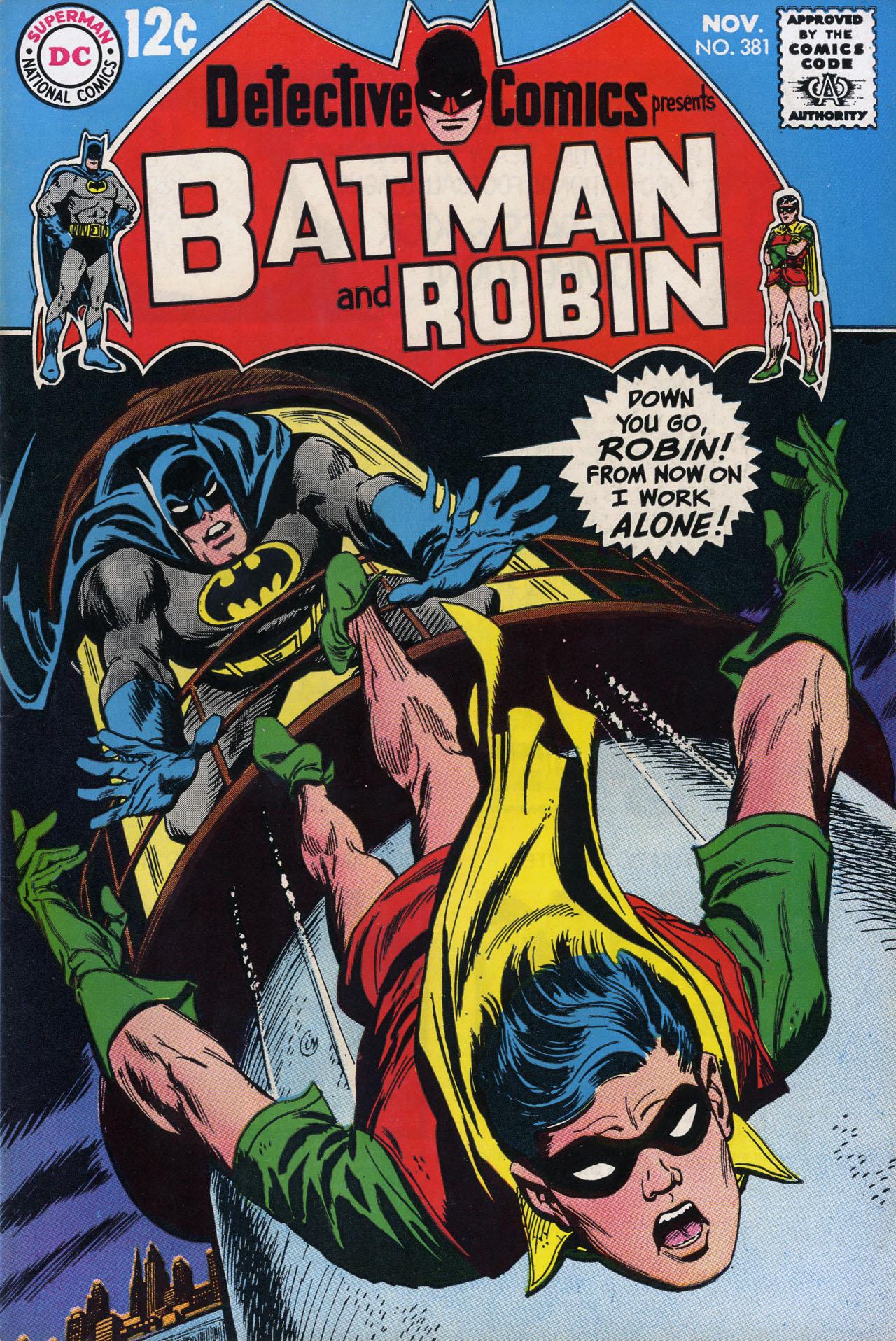 Detective Comics Vol 1 381