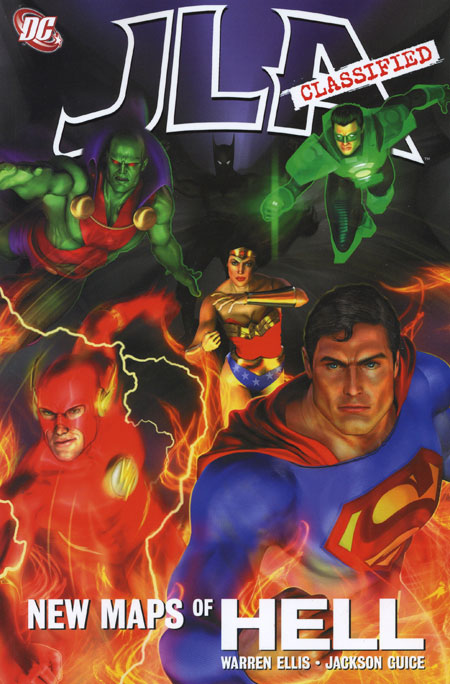 JLA: New Maps of Hell (Collected)