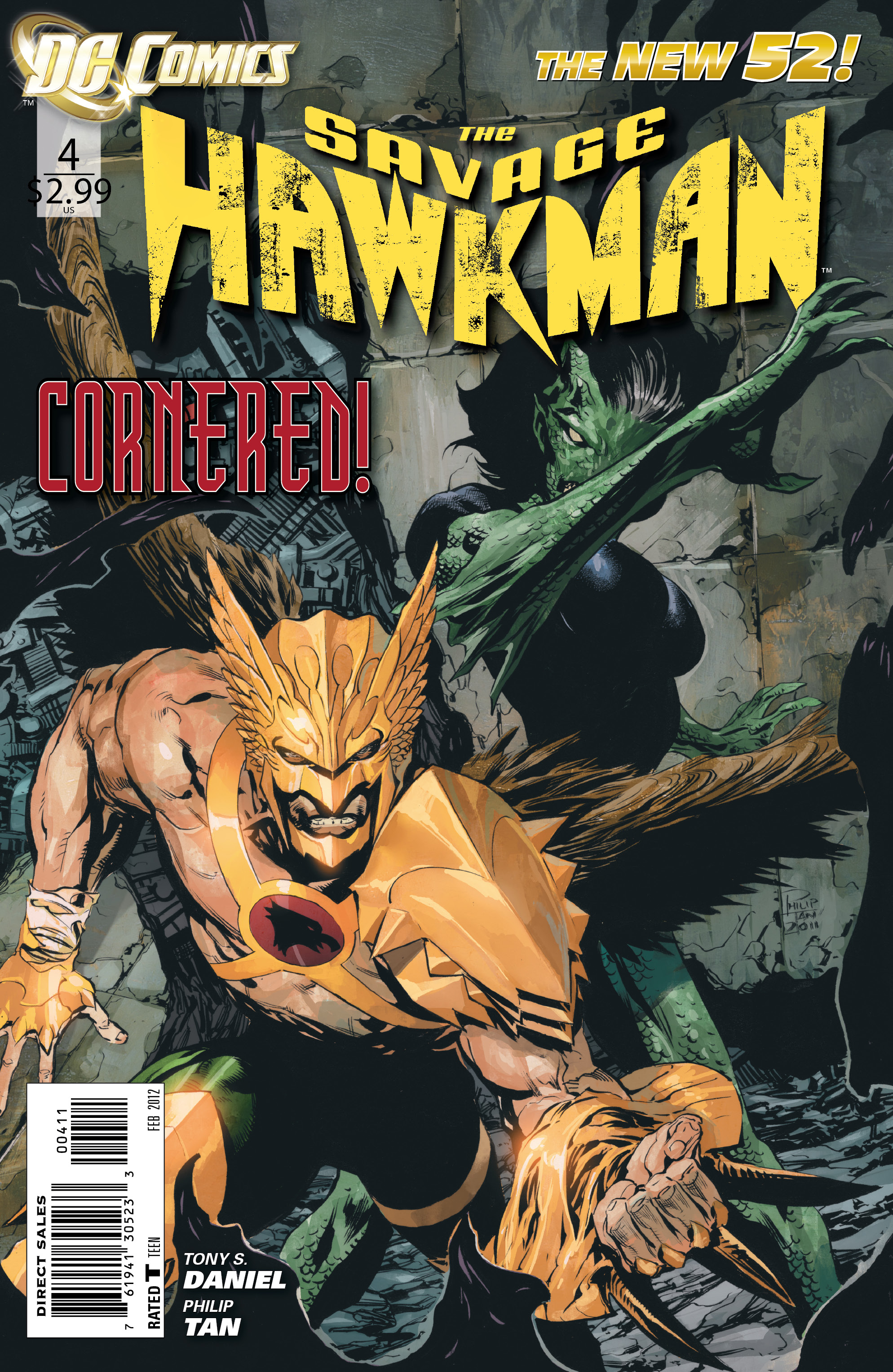Savage Hawkman Vol 1 4