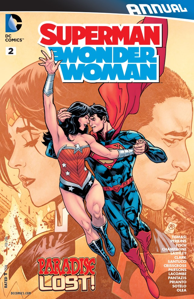 Superman/Wonder Woman Annual Vol 1 2