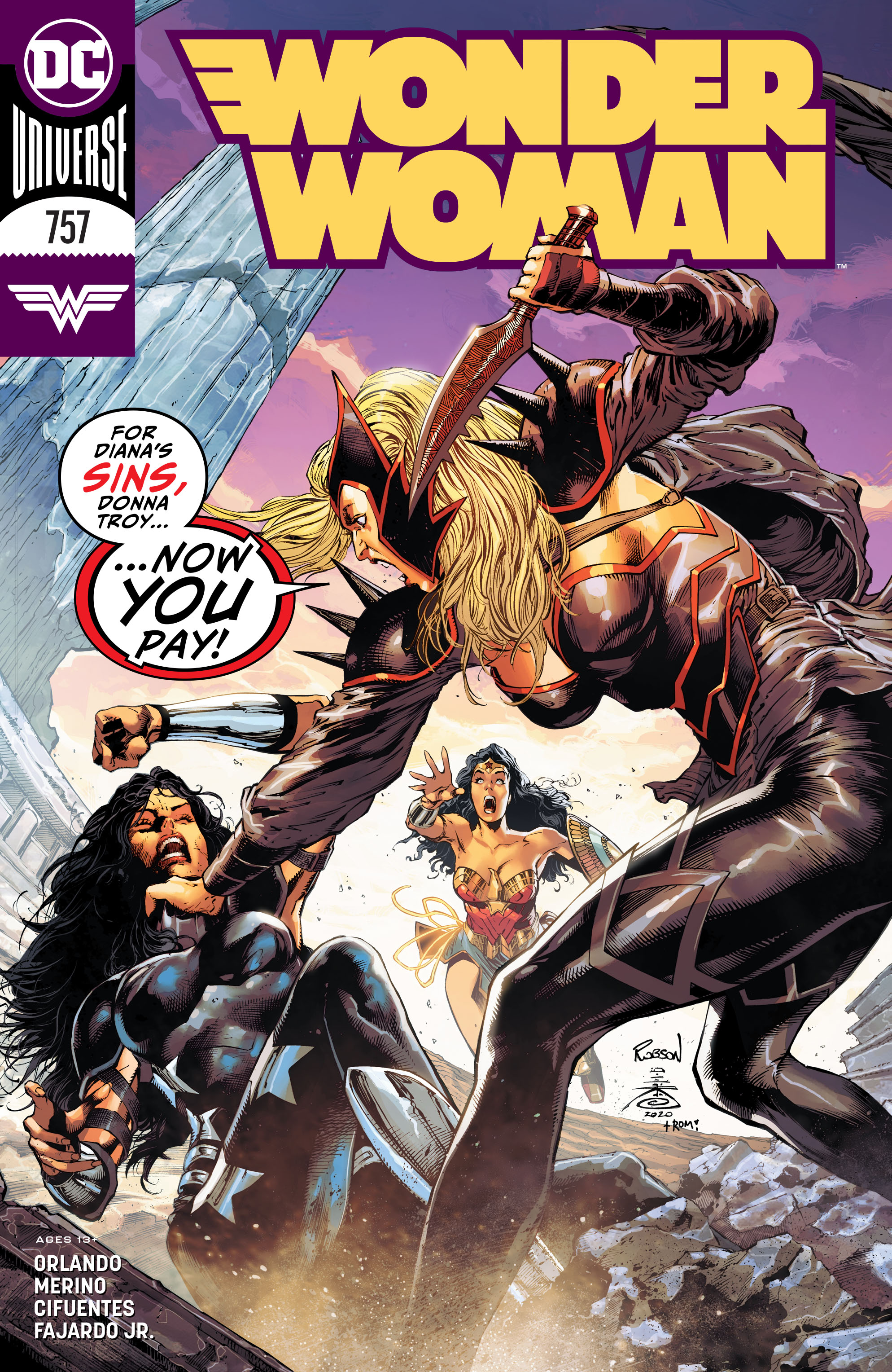 Wonder Woman Vol 1 757
