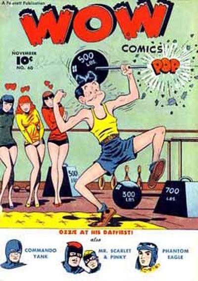 Wow Comics Vol 1 60
