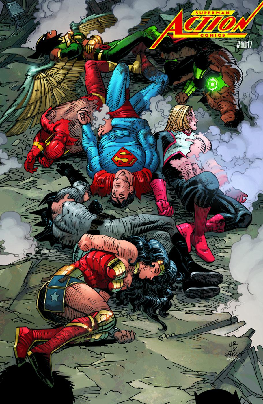 Action Comics Vol 1 1017 Acetate Variant.jpg