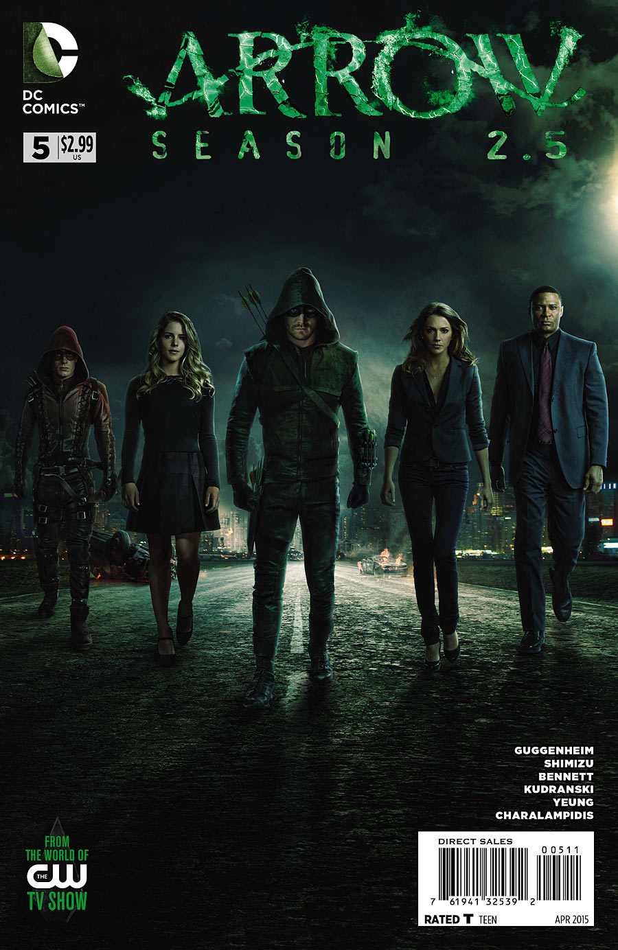 Arrow: Season 2.5 Vol 1 5