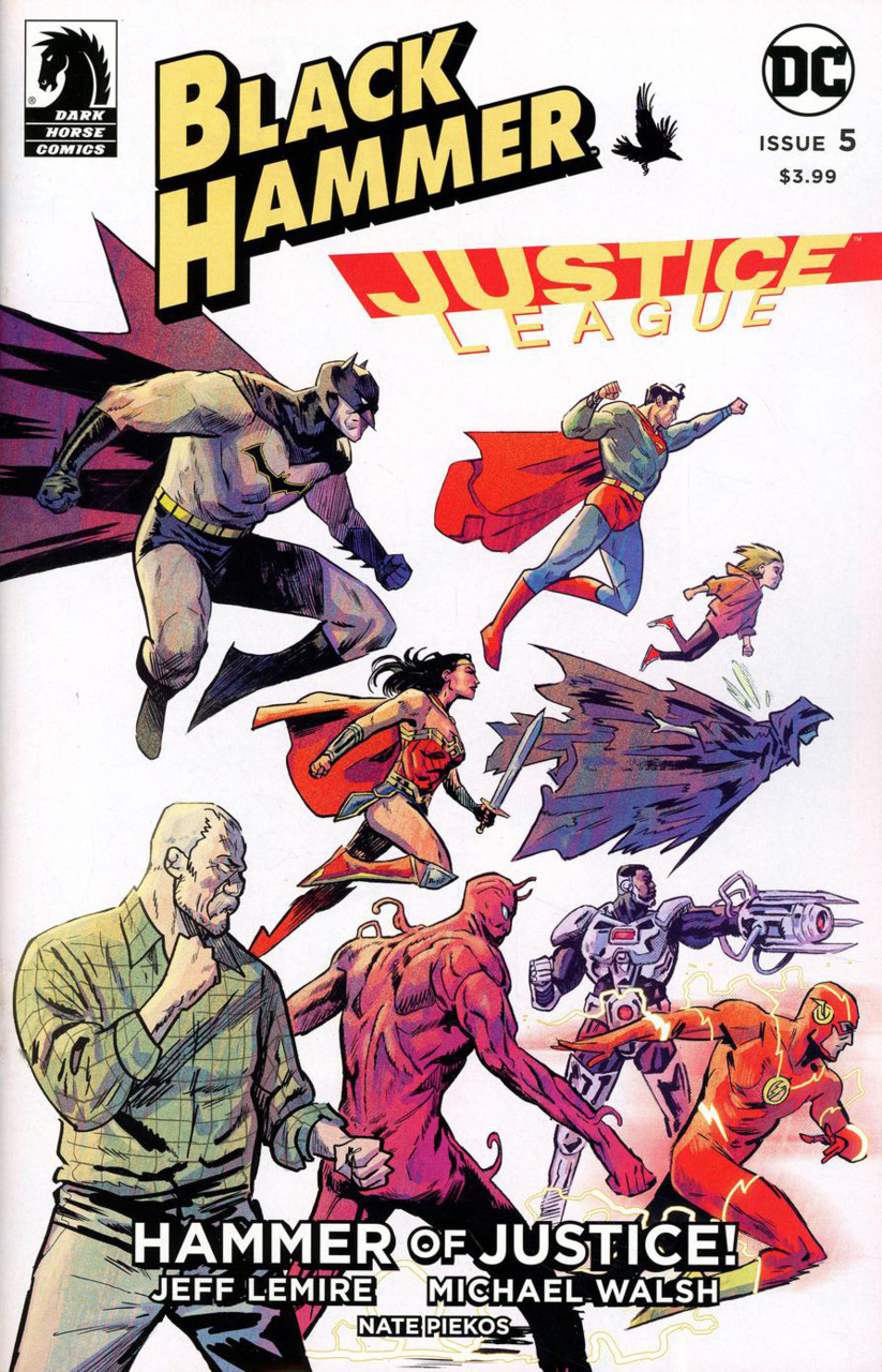 Black Hammer/Justice League: Hammer of Justice! Vol 1 5