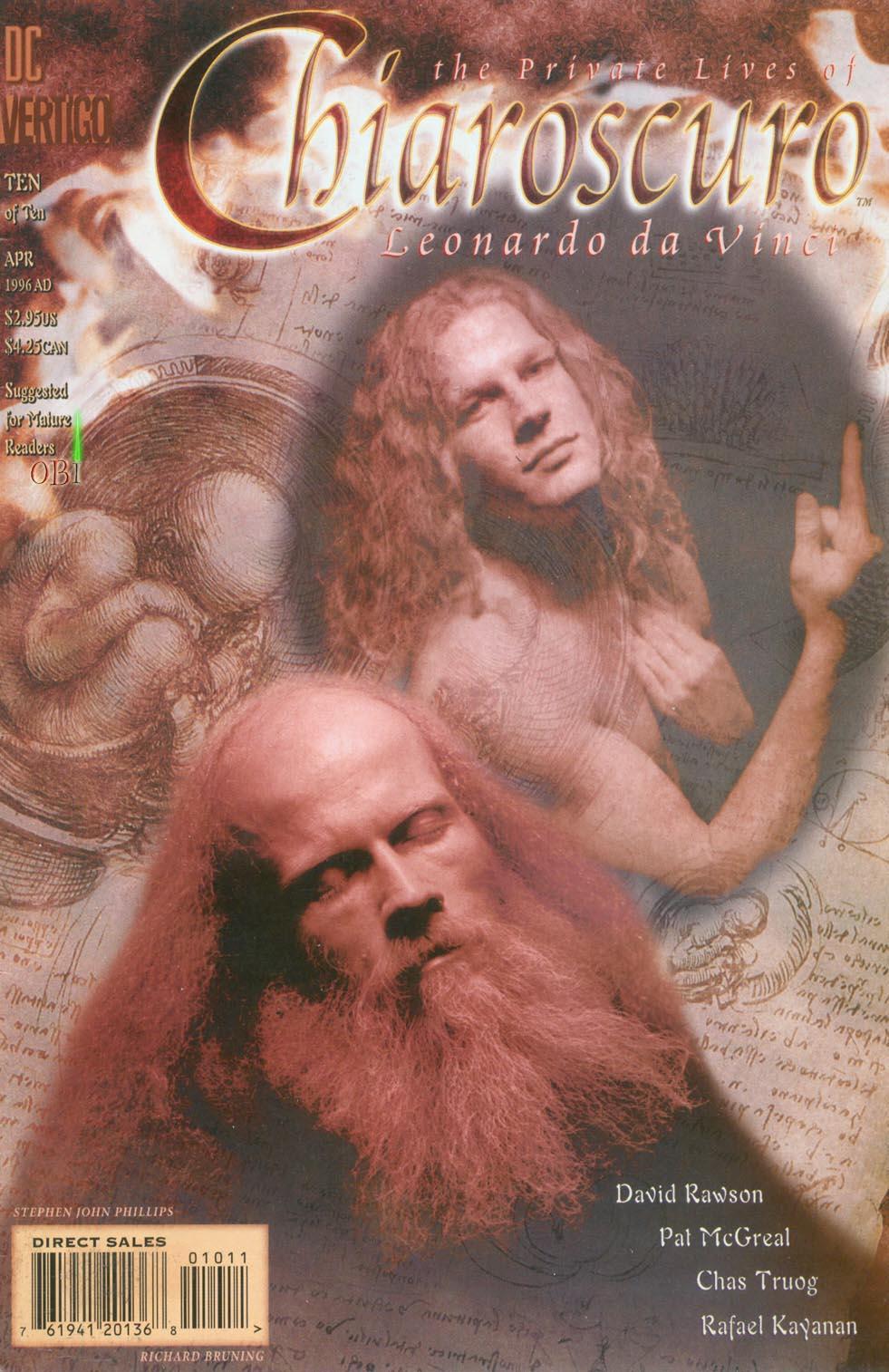 Chiaroscuro: The Private Lives of Leonardo da Vinci Vol 1 10