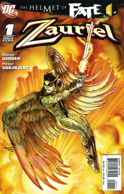 Helmet of Fate: Zauriel Vol 1 1