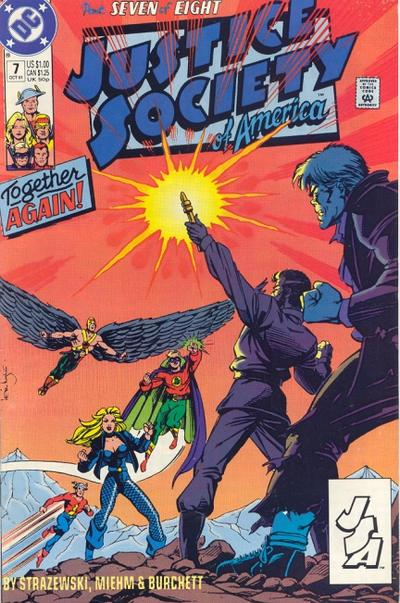 Justice Society of America Vol 1 7