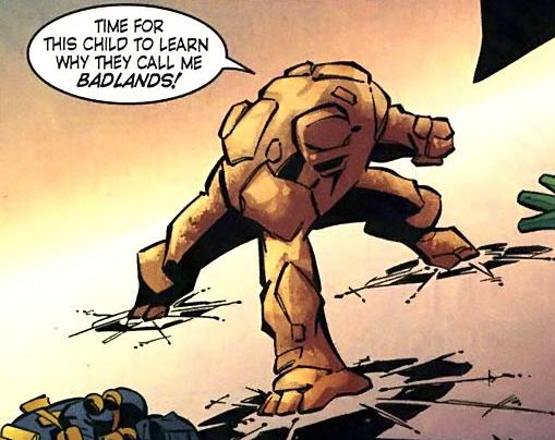 Badlands (New Earth)