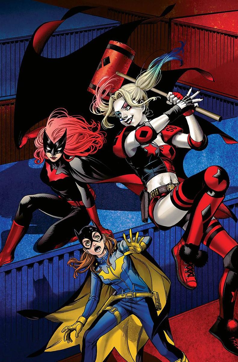 Batgirl and the Birds of Prey Vol 1 16 Textless Variant.jpg