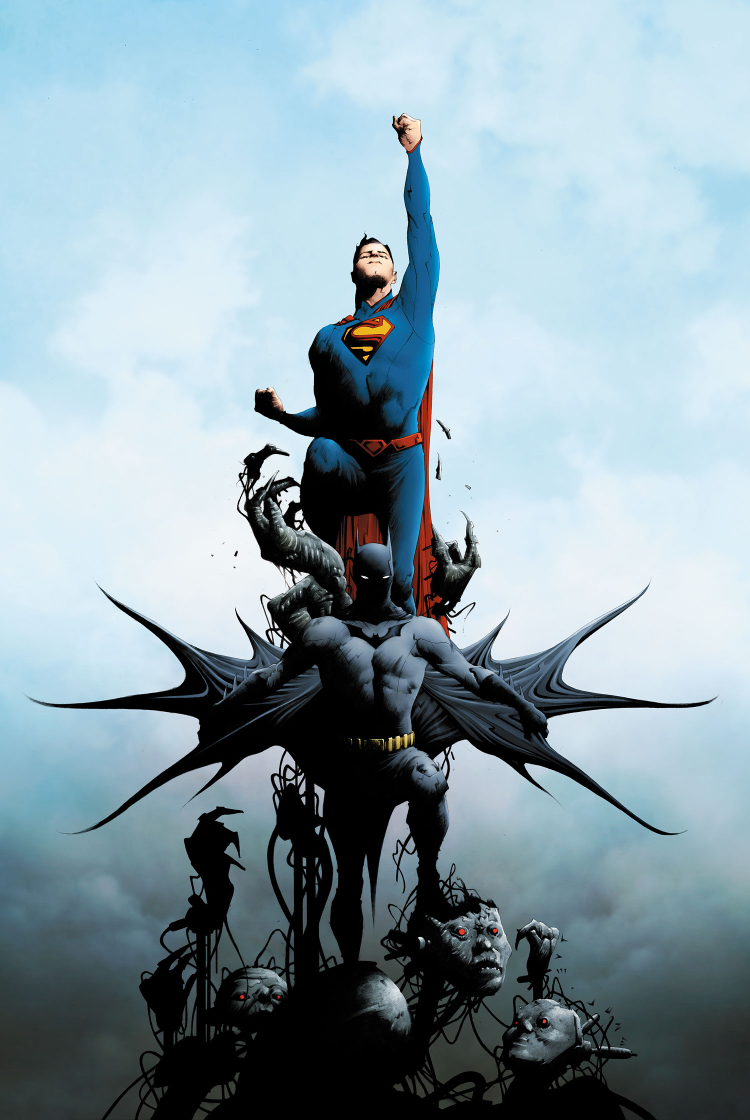 Batman Superman Vol 1 1 Textless.jpg