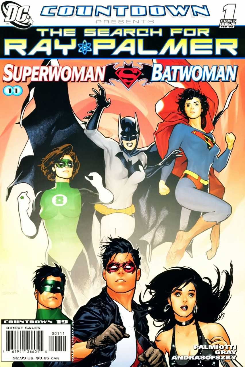 Countdown Presents: The Search for Ray Palmer: Superwoman/Batwoman Vol 1 1