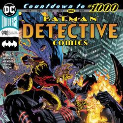 DETECTIVE COMICS #998 VARIANT NEAR MINT 2019 UNREAD DC COMICS bin-2019-2604