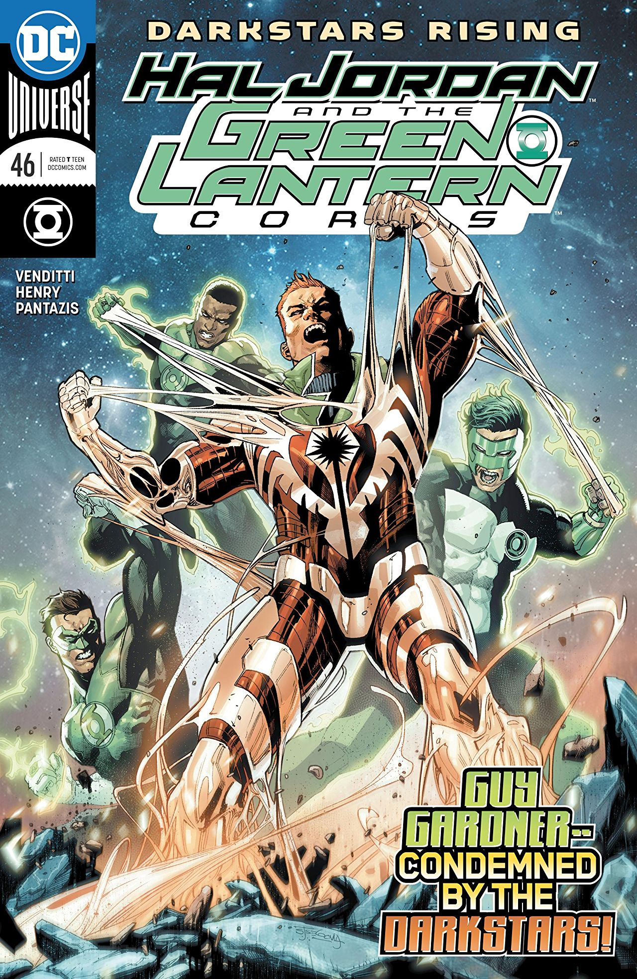 Hal Jordan and the Green Lantern Corps Vol 1 46