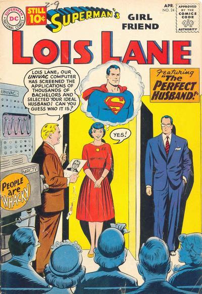 Superman's Girl Friend, Lois Lane Vol 1 24