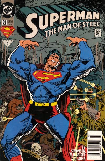 Superman: The Man of Steel Vol 1 31
