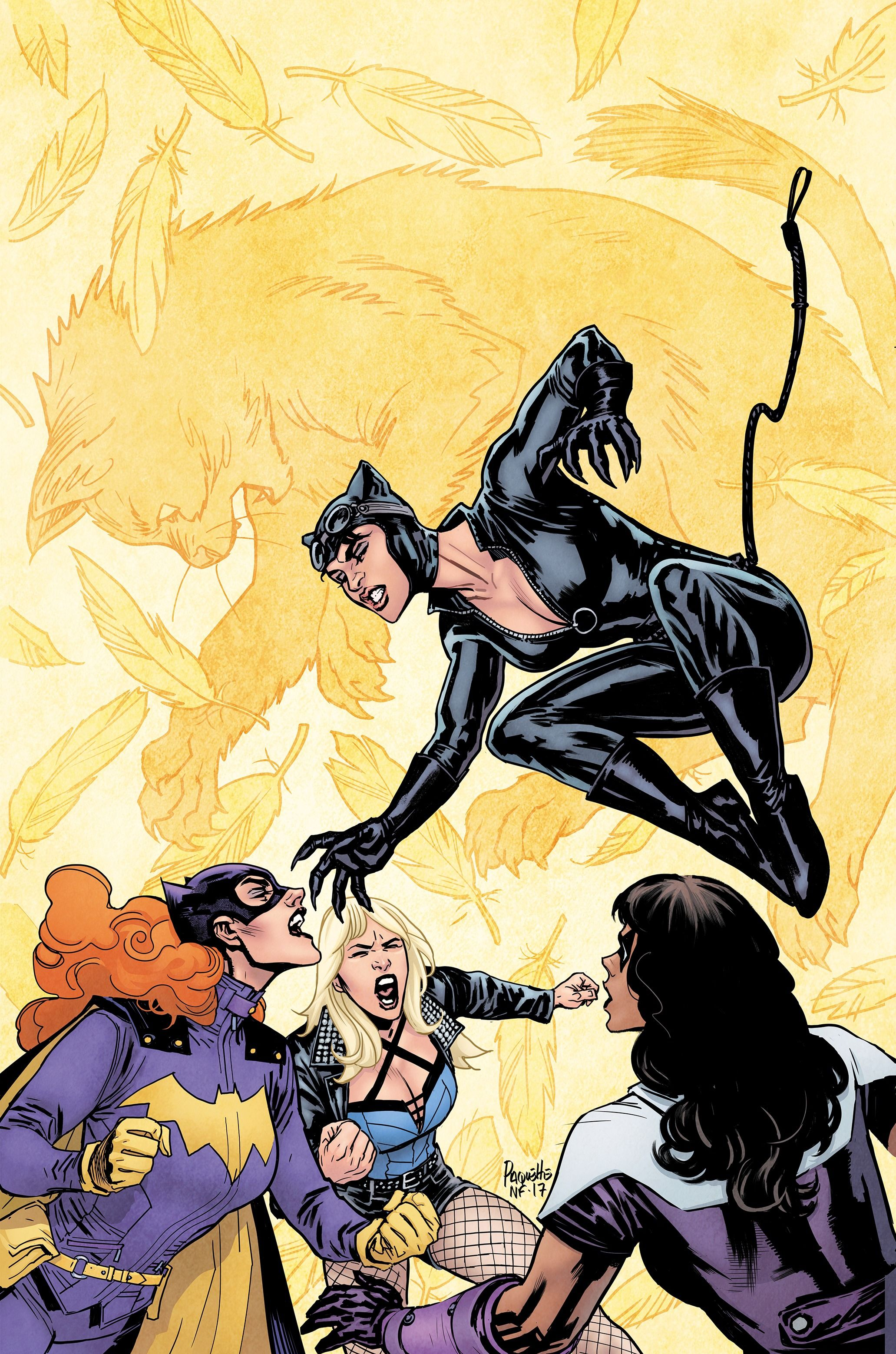 Batgirl and the Birds of Prey Vol 1 12 Textless.jpg