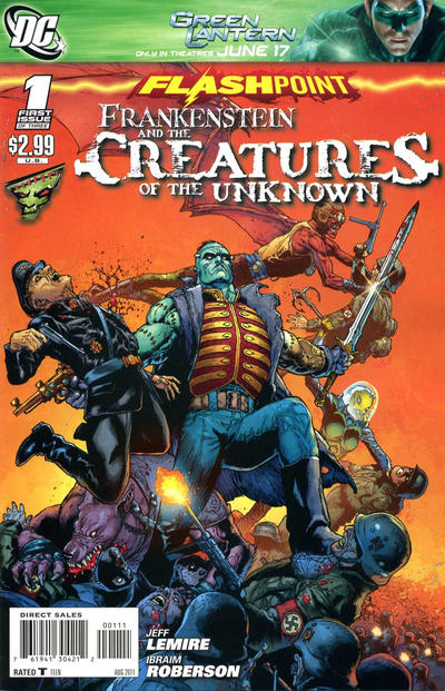 Flashpoint: Frankenstein and the Creatures of the Unknown Vol 1