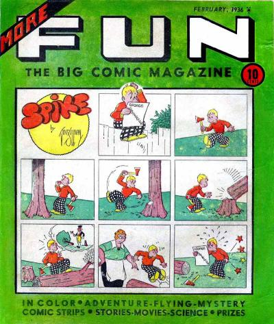 More Fun Comics Vol 1 8