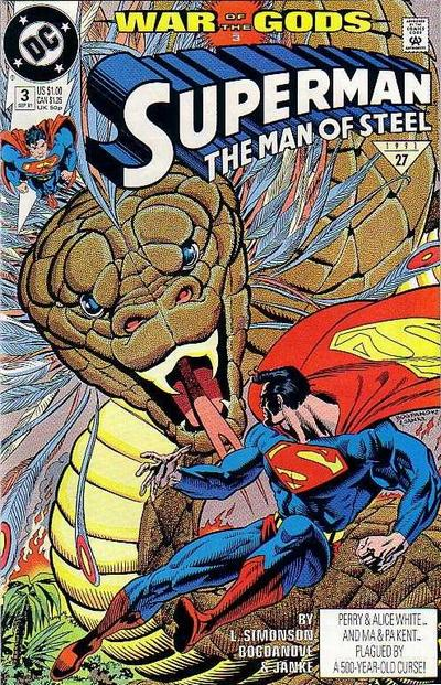 Superman: The Man of Steel Vol 1 3