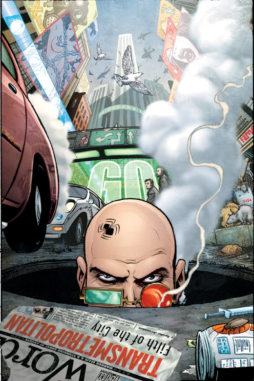 Transmetropolitan: Tales of Human Waste (Collected)