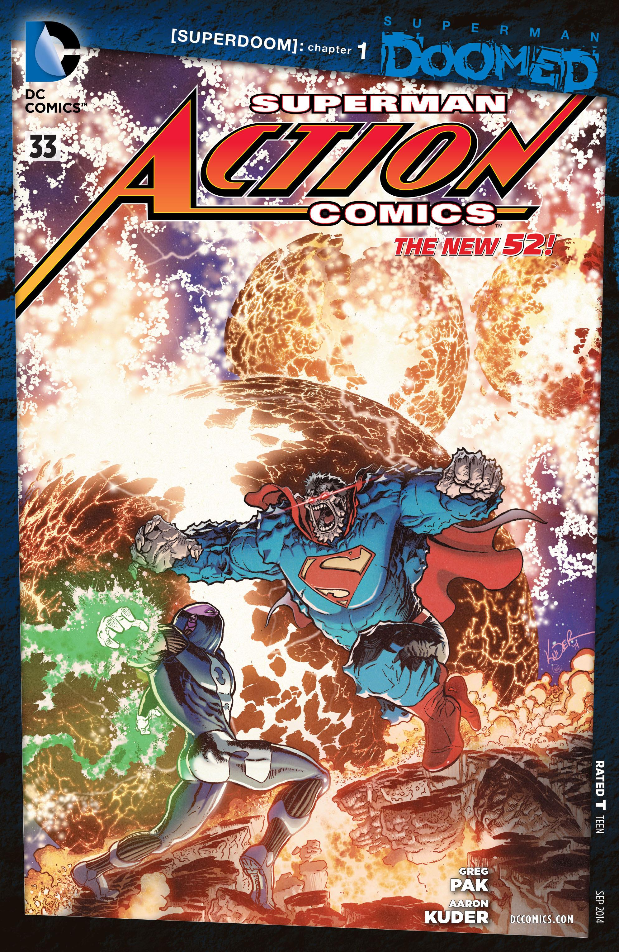 Action Comics Vol 2 33