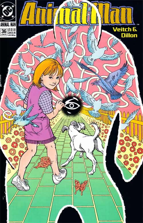 Animal Man Vol 1 36