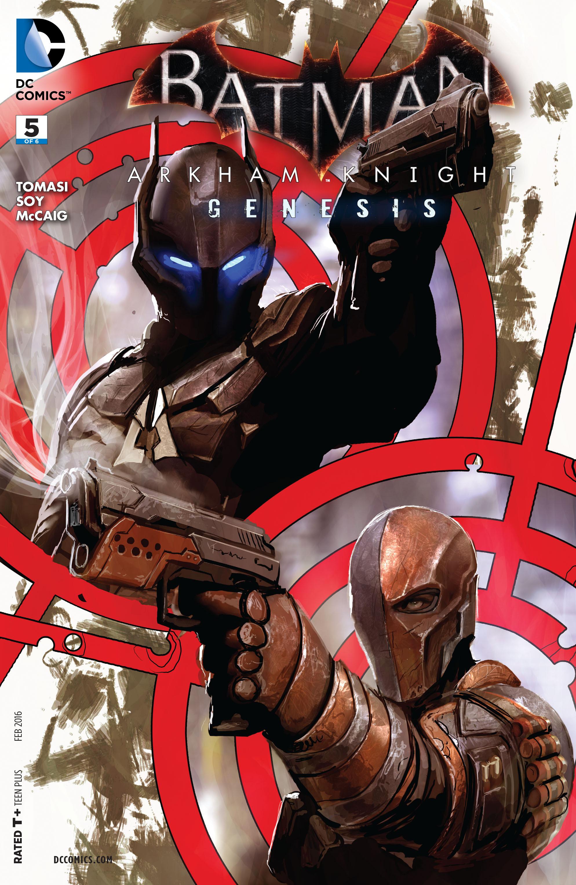 Batman: Arkham Knight - Genesis Vol 1 5