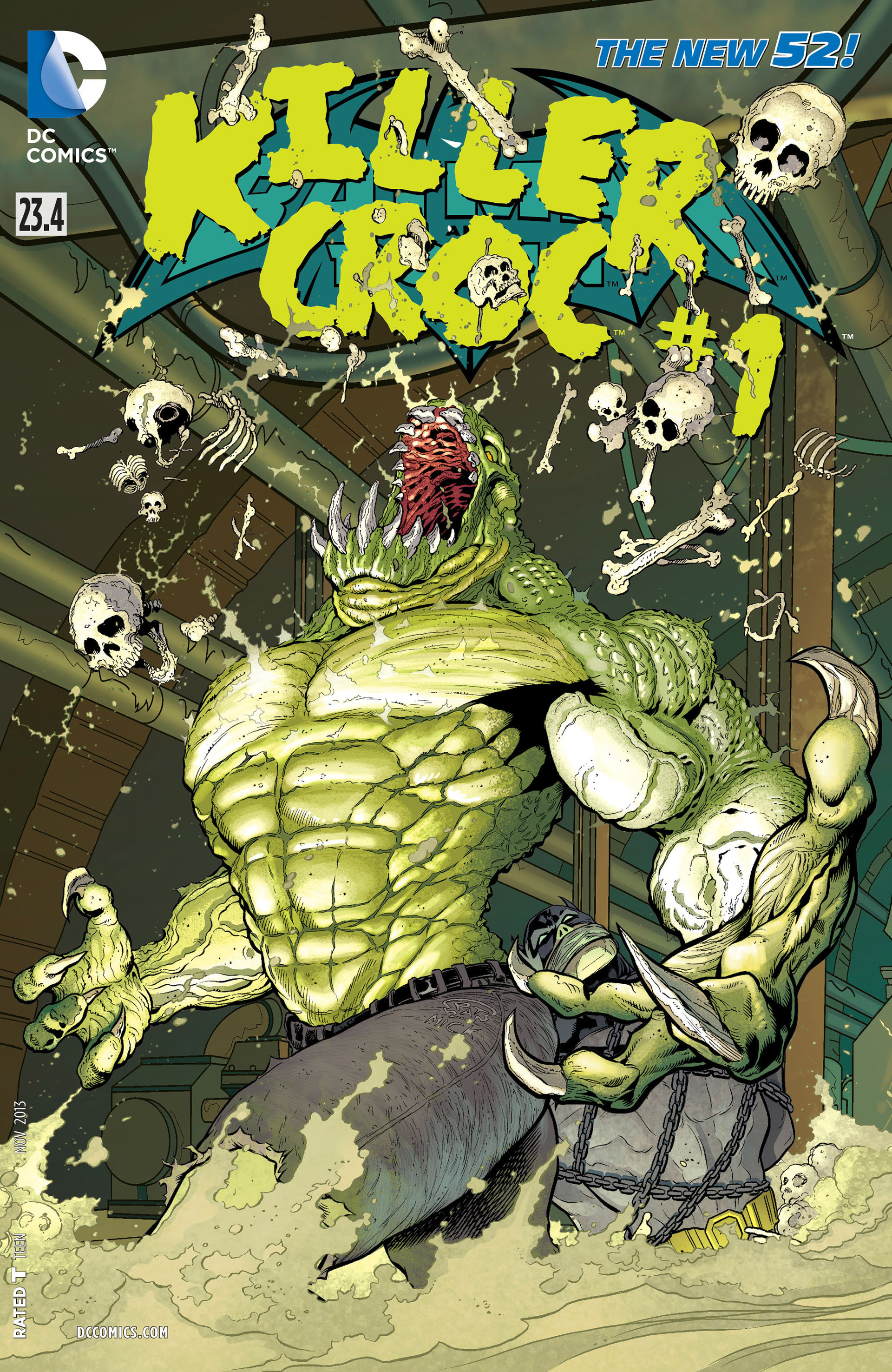 Batman and Robin Vol 2 23.4: Killer Croc