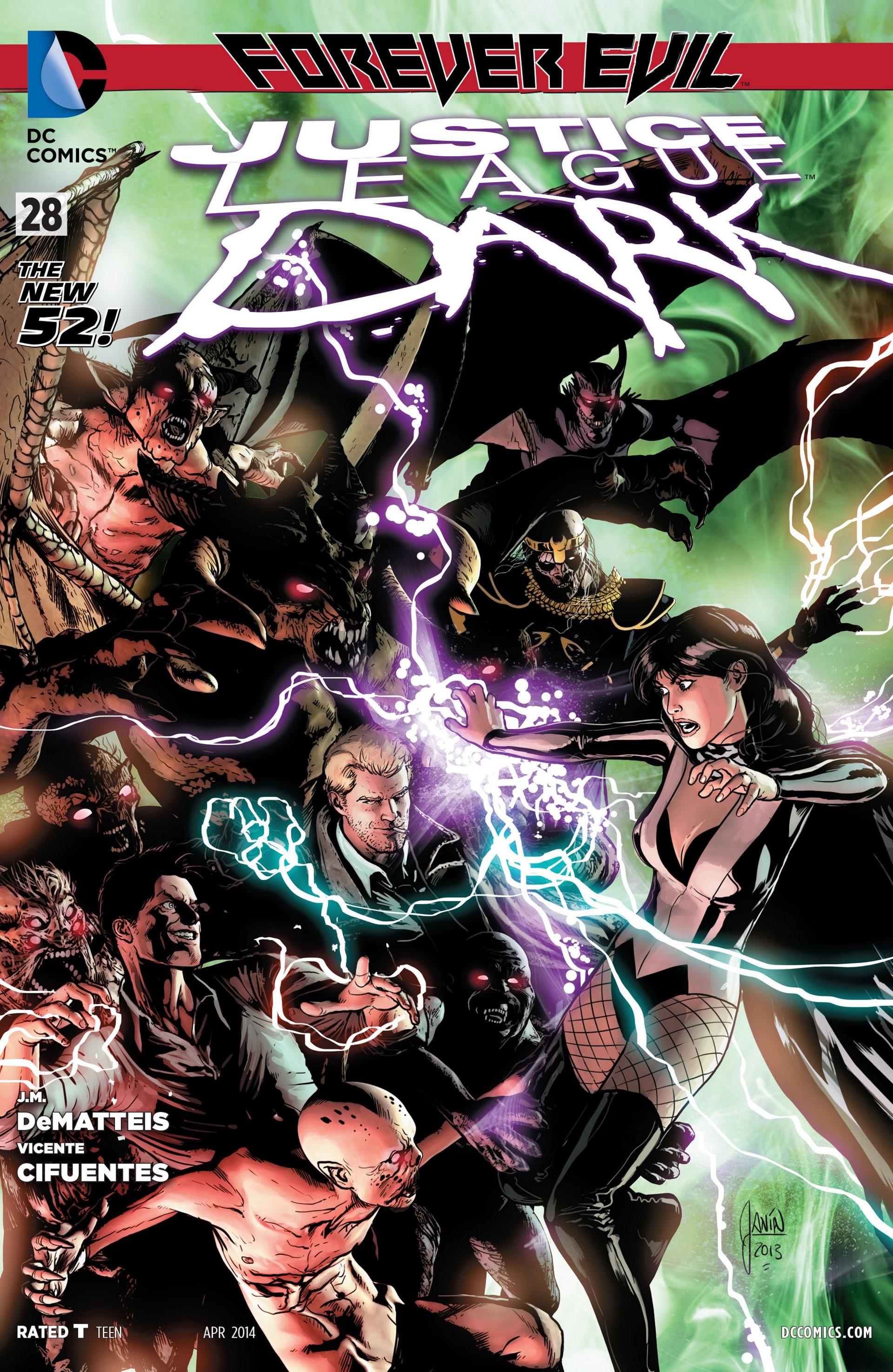Justice League Dark Vol 1 28