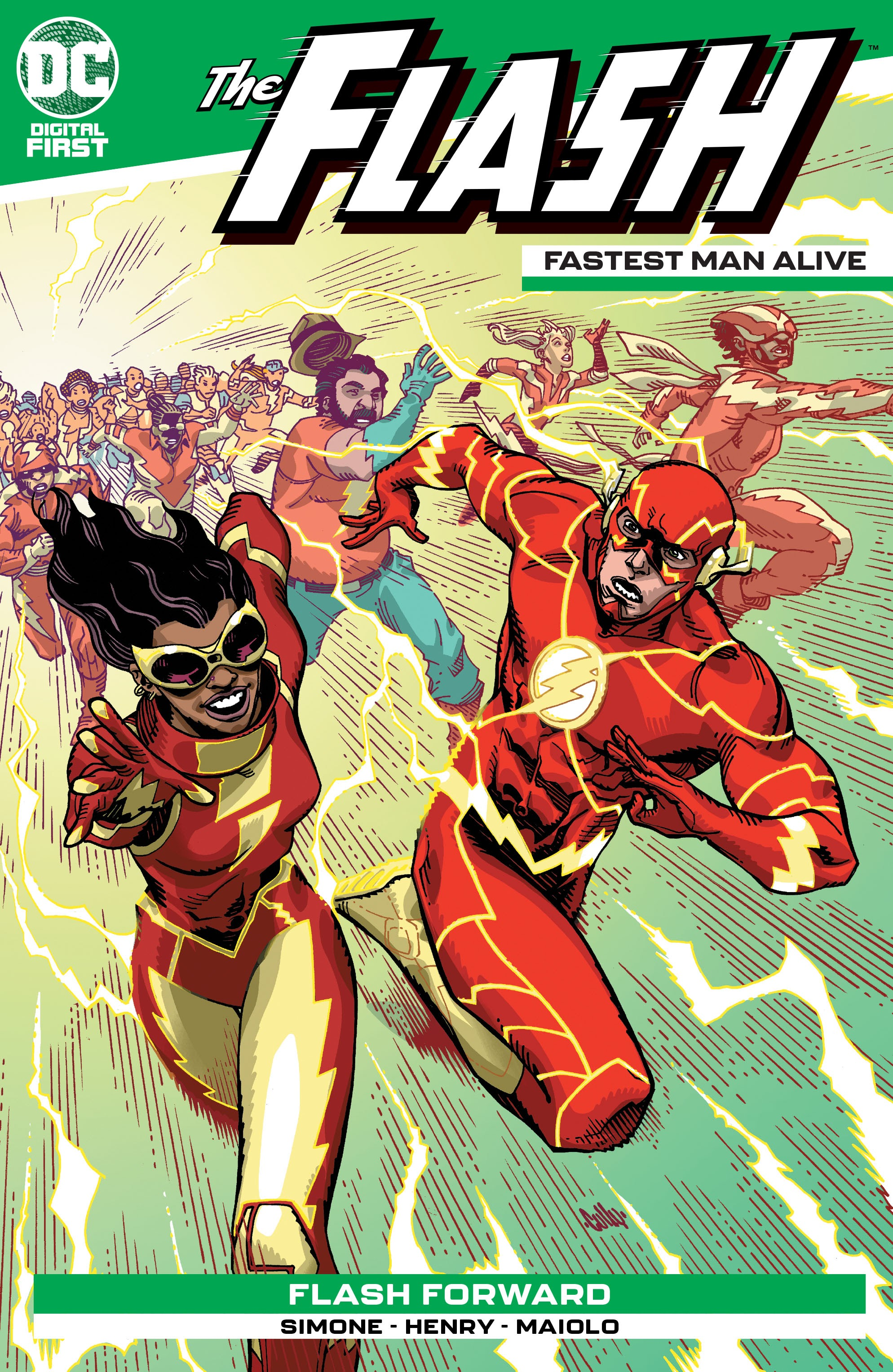 The Flash: Fastest Man Alive Vol 1 4 (Digital)