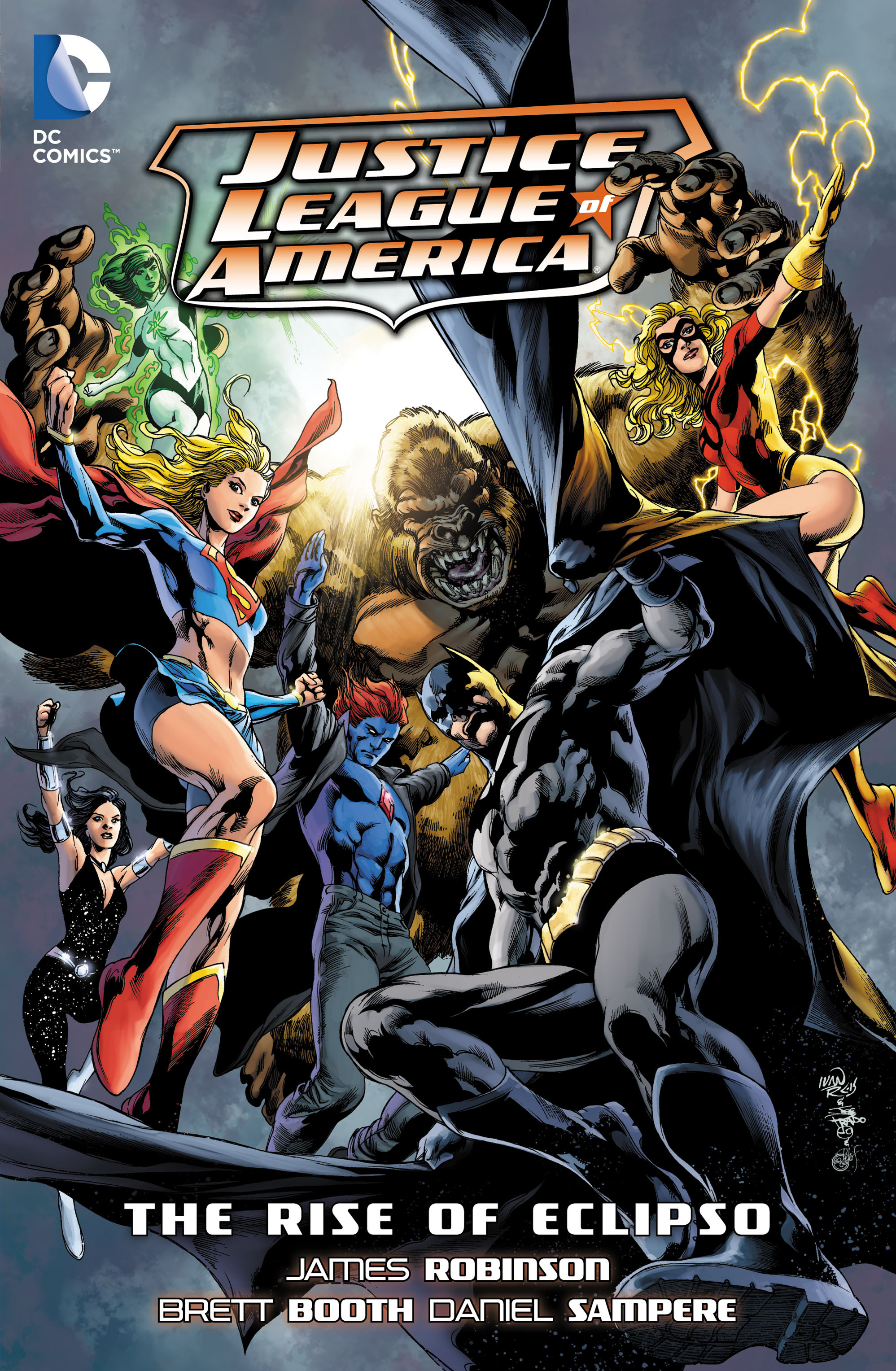Justice League of America: The Rise of Eclipso (Collected)