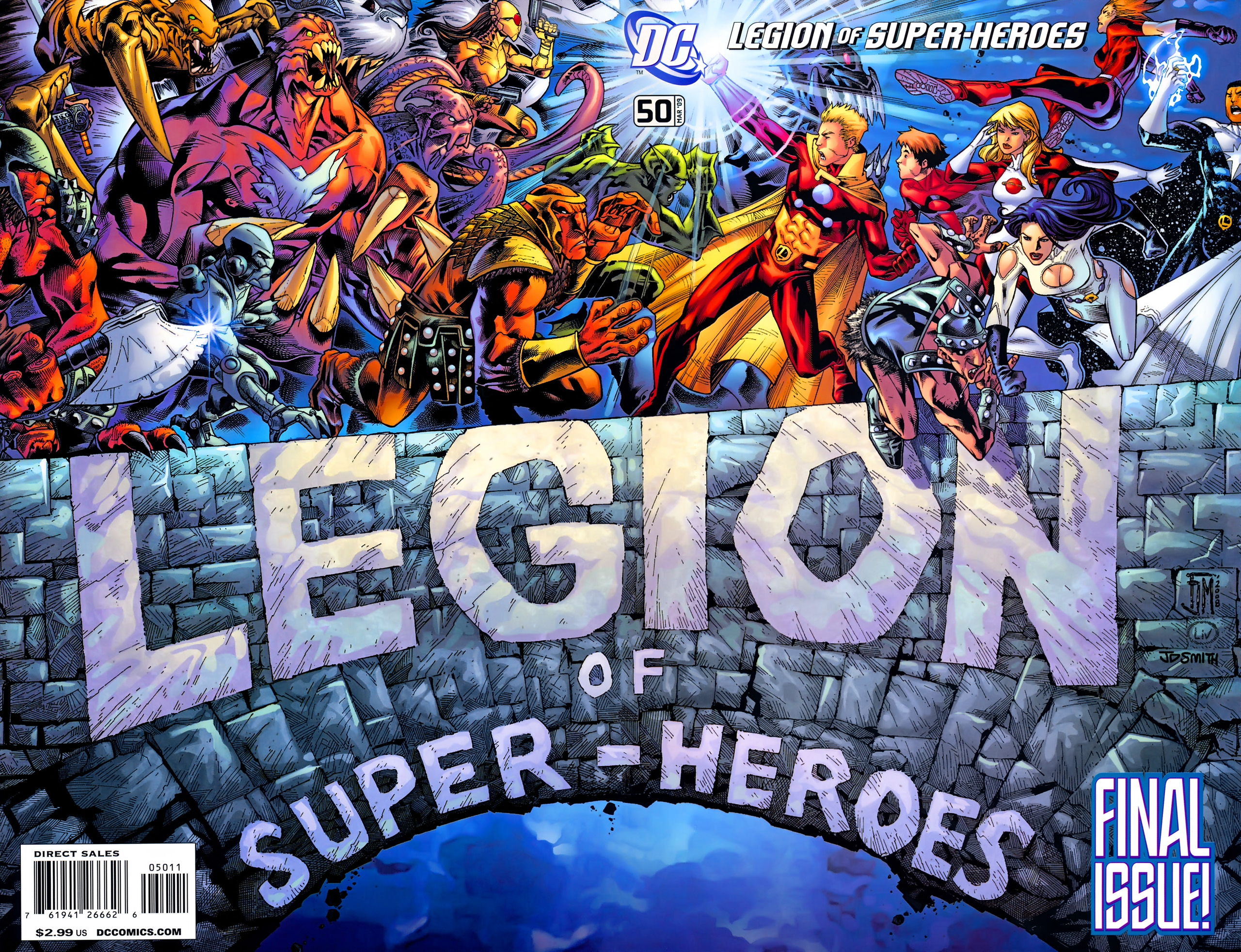 Legion of Super-Heroes Vol 5 50