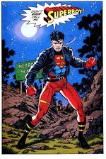 Superman's clone escapes Cadmus.