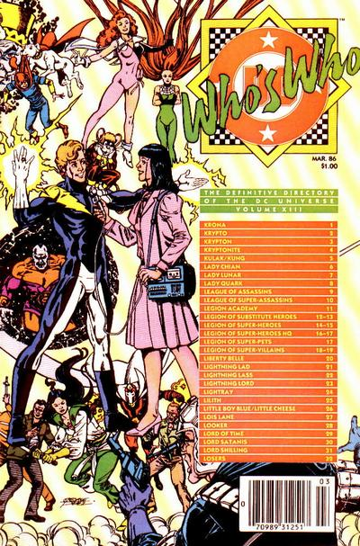 Who's Who: The Definitive Directory of the DC Universe Vol 1 13