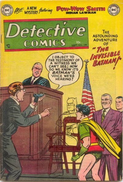 Detective Comics Vol 1 199